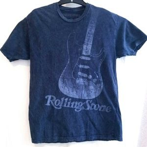NWOT Rolling Stone Collection Guitar T-shirt